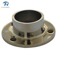 Buy cheap stainless steel handrail fitting, tube seat HFRS007, material stainless steel, finishing satin from wholesalers