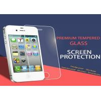Buy cheap Tempered Privacy Anti Spy iPhone 4 4S Screen Protector Nanotechnology White from wholesalers