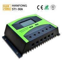 China LCD Display 12V / 24V PWM Solar Power Controller For Solar System Charge Cotroller on sale