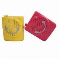 Buy cheap Mini Megaphone Speaker, Supports LCD Display /USB/TF/FM Playing and Reverberation Functions from wholesalers