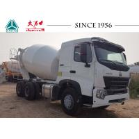 Buy cheap Durable HOWO Concrete Mixer Truck Smooth Operation With 380 Hp Euro IV Engine from wholesalers