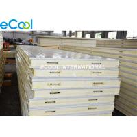 Buy cheap Cold Storage PU Sandwich Panel Food Tensile Strength With Built In Cam Lock from wholesalers