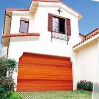 Buy cheap Solid wood sectional garage door, non-deforming from wholesalers