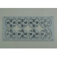 Buy cheap Aluminum base single sided pcb 1.6mm one layer , black Silk Mask for led lighting from wholesalers