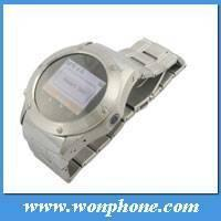 Buy cheap Wholesale Good Watch mobile phone W968 with stainless steel from wholesalers