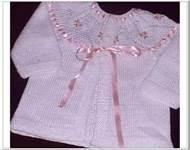 China High quality 100% cotton chunky baby hand knitted cardigans for Baby Girls on sale