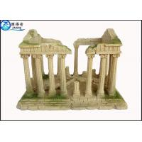 Buy cheap Rectangle Ancient Culture Aquarium Resin Ornaments Large Aquarium Decorations Eco-Friendly from wholesalers