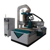 Buy cheap Heavy Duty Cnc Wood Carving Machine , High Strength Wood Carving Router Machine from wholesalers