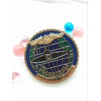 Buy cheap 10 Years Manufacture Experience Cheap Custom Blank Metal Enamel Challenge Coin For Souvenir product