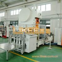 Buy cheap Full automatic aluminum foil dishes punching machine aluminum foil pan machine with high quality from wholesalers