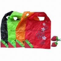 Buy cheap Strawberry-designed Promotional Tote Bags, Various Colors Available, Customized Orders are Accepted from wholesalers