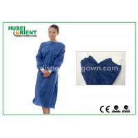 Buy cheap Disposable Surgical Isolation Gown / Custom Hospital Gowns With PP SMS Material from wholesalers