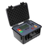 Buy cheap Auto Test Earth Ground Resistance Tester Kit 100V 30KΩ 128Hz Test Frequency product