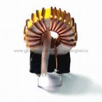 Buy cheap Toroidal Inductor Coils, Designed as per Customer Request, RoHS Compatible Versions are Available from wholesalers