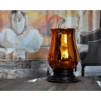 Buy cheap glass candle holder,hot selling hand-made silver plating glass candlestick from wholesalers