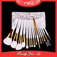 Buy cheap 2017 populor MSQ 15pcs make up brushes with excellent quality cases from wholesalers