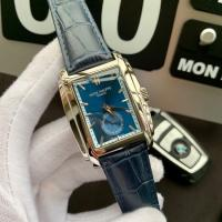 Buy cheap Patek Philippe Gondolo Blue Leather Strap Blue Dial Replica Watch Patek Philippe men's watch from wholesalers