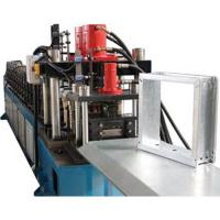 Buy cheap Square Vane Smoke Damper 1.0mm Roll Forming Equipment With Chain Drive from wholesalers
