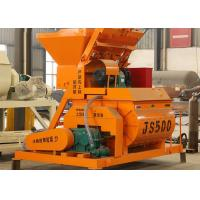 Buy cheap Stationary Self Loading Cement Mixer Machine 25m3/H Capacity 18.5kw Mixing Motor Power from wholesalers