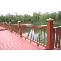 Buy cheap Outdoor Engineered WPC Garden Fence , Waterproof Railing For Safety from wholesalers