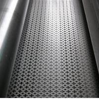 Buy cheap Standard  2B surface polished stainless steel perforated sheet for household articles from wholesalers