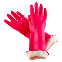 Buy cheap Reusable Household Hand Protection Gloves Flock Lined Latex Gloves For Clearning from wholesalers
