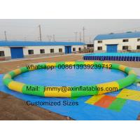 Buy cheap Factory Price Customized 0.9MM PVC Tarpaulin Commercial Water Games Inflatable Swimming Pool For Sale from wholesalers