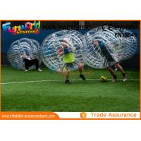 Buy cheap Clear TPU Inflatable Human Knocker Ball , Inflatable Ball Suit from wholesalers