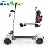 Buy cheap EcoRider Scooter Golf Bag Carrier 1000w Four Wheels 40-60KM Mileage Brushless DC Motor from wholesalers