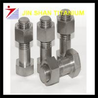 Buy cheap DIN555 gr1 titanium screw from wholesalers