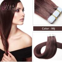 Buy cheap Skin Weft Seamless Virgin Tape In Hair Extensions 100 Real Human Hair 8A Grade from wholesalers