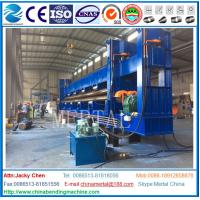 Buy cheap MCLW11NC-20*9000 3-roller hydraulic plate rolling machine for shipbuilding from wholesalers