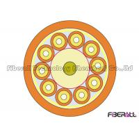 Buy cheap Non Metallic Round Indoor Fiber Optic Cable 10 Cores With 2.0mm SX Cable from wholesalers
