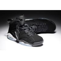 Buy cheap Top quality cheap Air Jordan Retro 6 Basketball Shoes Men's nike sneakers black 037 from wholesalers