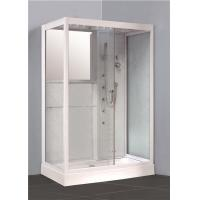 Buy cheap Large Rectangular Walk In Shower Enclosures Stand Alone Shower Units With Steam Systems from wholesalers