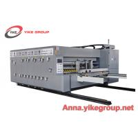 Buy cheap Economic Flexo Printer Slotter Die Cutter Machine For Pizza Box 50mm Wall Board from wholesalers