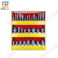 Buy cheap Industrial Quality 30pcs Wooden Box Packed 1/2 Shank Carbide Multi-Purpose Router Bit Set from wholesalers