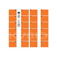 Buy cheap Control Board Automated Locker System , Intelligent Parcel Lockers Fingerprint Reader Type from wholesalers