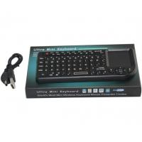 Buy cheap Portable small 2.4G Wireless Touch Keyboard for TV / computer / tab product