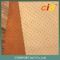 Buy cheap 100% Polyester Plain Emboss Dot Embroidery Suede Sofa Upholstery Fabric for from wholesalers
