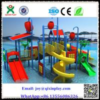 Buy cheap Guangzhou Plastic Water park Slides Aqua Water park Manufacturer in China from wholesalers