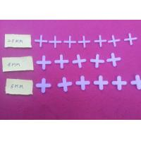 Buy cheap White 2.5mm / 4mm / 5mm Floor Tile Spacers from wholesalers