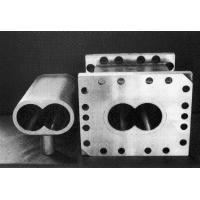 Buy cheap plastic extruder double screw barrel for PVC pipe and foam product