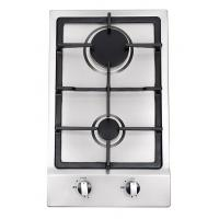 Built In Stainless Steel 2 Burner Gas Hob , 2 Burner Gas Range With Thermocouple