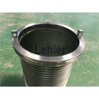 Buy cheap WWE-178 Wedge Wire Filter Elements Long Slit High Flow Rate ISO Certification from wholesalers