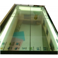 Buy cheap 400cd/m2 85in Capacitive LCD Touch Screen Optical Bonding Transparent LCD Display product