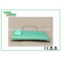Buy cheap Blue Disposable Non Woven Bed Sheets for Hospital Clinic Beauty Center Use from wholesalers