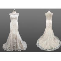 Buy cheap A Line Sheer Summer Wedding Dresses / Cute Vintage Style Wedding Dresses from wholesalers
