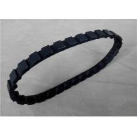 Buy cheap Customized Robot Rubber Tracks Light Weight With Tension / Support Wheels from wholesalers