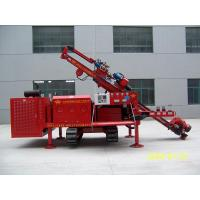 Buy cheap Top Drive Power Head Borehole Drilling Machines Three Head Clamping Device from wholesalers